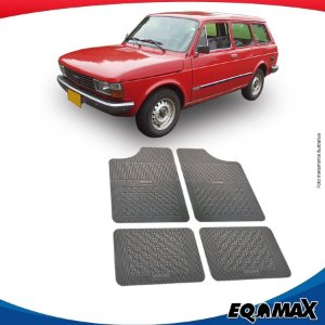 Tapete Borracha Eqmax Fiat Panorama