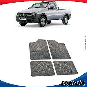 Tapete Borracha Eqmax Fiat Strada