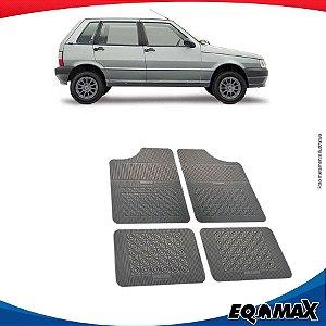 Tapete Borracha Eqmax Fiat Uno Mille