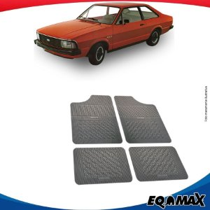 Tapete Borracha Eqmax Ford Corcel