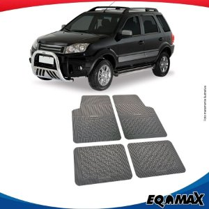 Tapete Borracha Eqmax Ford Ecosport Antigo