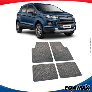 Tapete Borracha Eqmax Ford Nova Ecosport