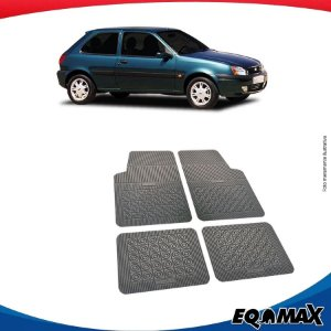 Tapete Borracha Eqmax Ford Fiesta Antigo