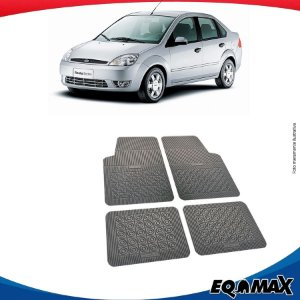 Tapete Borracha Eqmax Ford Fiesta Sedan