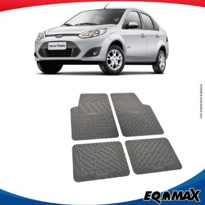 Tapete Borracha Eqmax Ford Fiesta Rocan Sedan