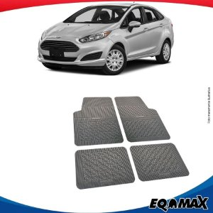 Tapete Borracha Eqmax Ford New Fiesta Sedan