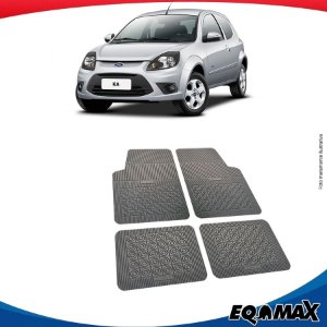 Tapete Borracha Eqmax Ford Ka Hatch