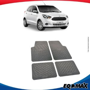 Tapete Borracha Eqmax Novo Ford Ka Hatch