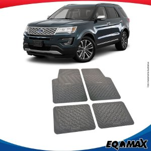 Tapete Borracha Eqmax Ford Explorer