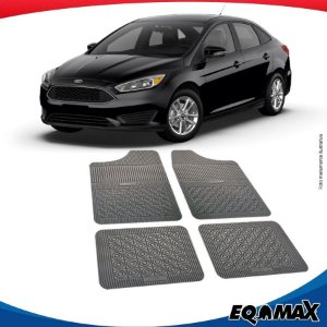 Tapete Borracha Eqmax Ford Focus Sedan 14/17
