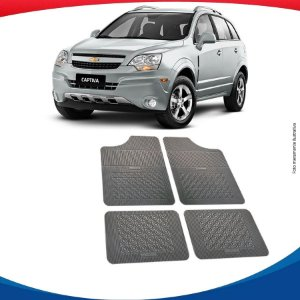 Tapete Borracha Eqmax Chevrolet Captiva
