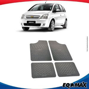 Tapete Borracha Eqmax Chevrolet Meriva