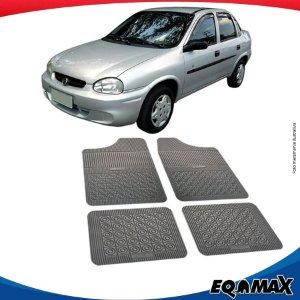 Tapete Borracha Eqmax Chevrolet Corsa Classic