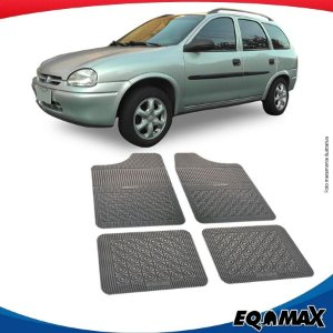 Tapete Borracha Eqmax Chevrolet Corsa Wagon