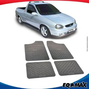 Tapete Borracha Eqmax Chevrolet Corsa Pick-up