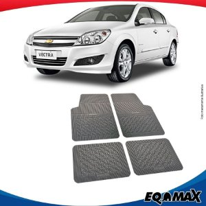 Tapete Borracha Eqmax Chevrolet Vectra Novo