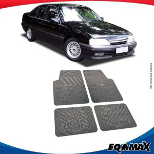 Tapete Borracha Eqmax Chevrolet Omega Antigo