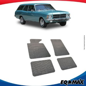 Tapete Borracha Eqmax Chevrolet Caravan