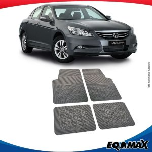 Tapete Borracha Eqmax Honda Accord Novo