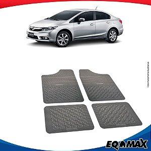Tapete Borracha Eqmax Honda New Civic