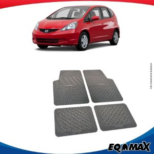 Tapete Borracha Eqmax Honda Fit