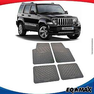 Tapete Borracha Eqmax Jeep Cherokee Sport