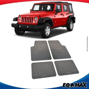 Tapete Borracha Eqmax Jeep Wrangler Sport