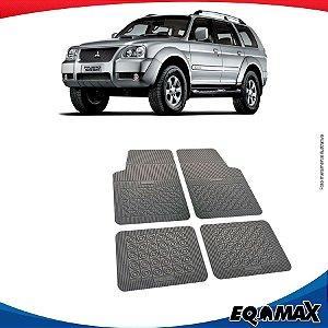 Tapete Borracha Eqmax Mitsubishi Pajero Sport