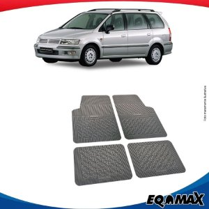 Tapete Borracha Eqmax Mitsubishi Space Wagon
