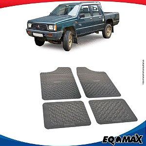 Tapete Borracha Eqmax Mitsubishi L200 Antiga