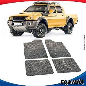 Tapete Borracha Eqmax Mitsubishi L200 Savana