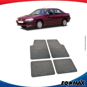 Tapete Borracha Eqmax Peugeot 406 Sedan