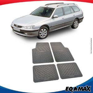 Tapete Borracha Eqmax Peugeot 406 SW