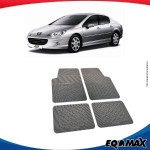 Tapete Borracha Eqmax Peugeot 407 Sedan