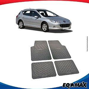 Tapete Borracha Eqmax Peugeot 407 SW