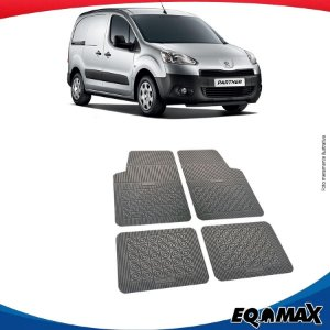 Tapete Borracha Eqmax Peugeot Partner