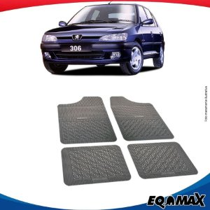 Tapete Borracha Eqmax Peugeot 306 Hatch
