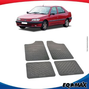 Tapete Borracha Eqmax Peugeot 306 Sedan