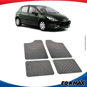 Tapete Borracha Eqmax Peugeot 307 Hatch