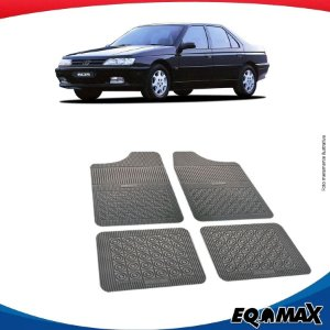 Tapete Borracha Eqmax Peugeot 605 Sedan
