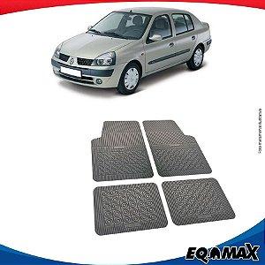 Tapete Borracha Eqmax Renault Clio Sedan