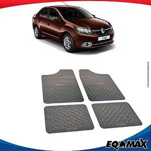 Tapete Borracha Eqmax Renault Novo Logan