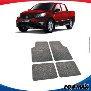 Tapete Borracha Eqmax Ssangyong Actyon Sports
