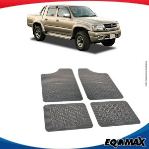 Tapete Borracha Eqmax Toyota Hilux Cabine Dupla Antiga