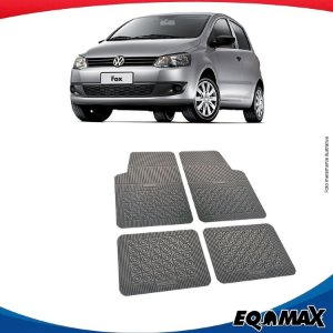 Tapete Borracha Eqmax Volkswagen Fox
