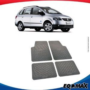 Tapete Borracha Eqmax Volkswagen Space Fox