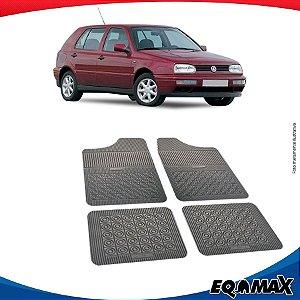 Tapete Borracha Eqmax Volkswagen Golf Quadrado