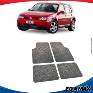 Tapete Borracha Eqmax Volkswagen Golf