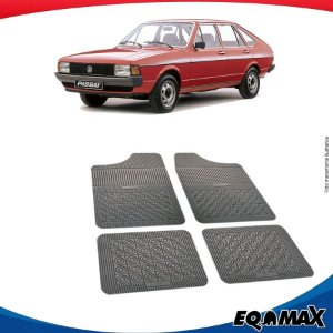Tapete Borracha Eqmax Volkswagen Passat Quadrado