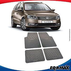 Tapete Borracha Eqmax Volkswagen Passat Variant Importado